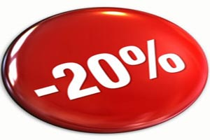 Giảm giá 20%