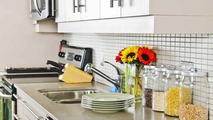 Nhà bếp sạch đẹp