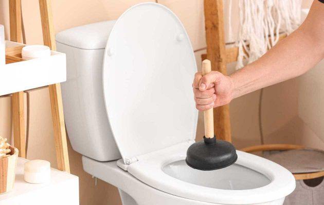 Tự thông tắc nhà vệ sinh