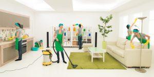 Làm sạch nhà theo yêu cầu