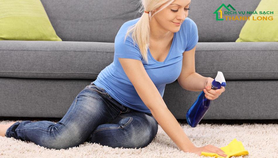 Làm thế nào để thảm luôn sạch và mới?