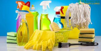 Lạm dụng chất tẩy rửa gây hại cho sức khỏe