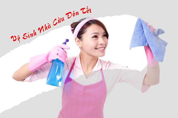 Dịch vụ vệ sinh nhà cửa đón tết có gì mới