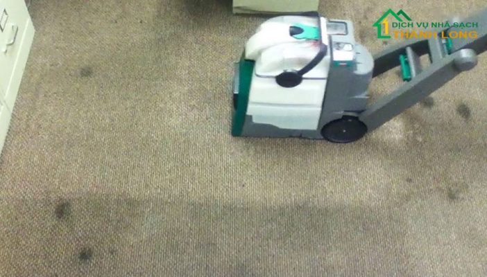 Phương pháp giặt thảm khô