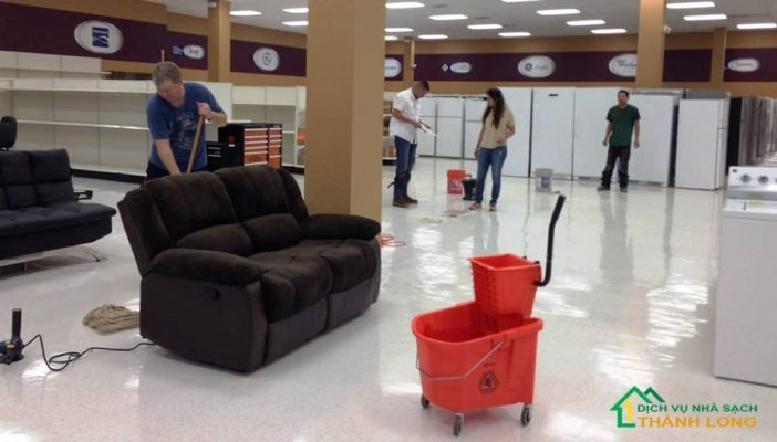 Quy trình dịch vụ vệ sinh sau xây dựng